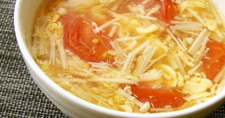 簡単&手軽に作れる具だくさんスープ。トマトは、加熱すると栄養価UP(食べる前にお好みで)酢を数滴加えても美味しいです。