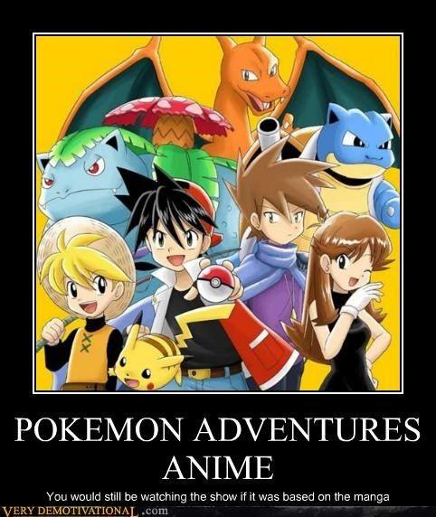 POKEMON ADVENTURES ANIME  Adventure, Pokemon and Search