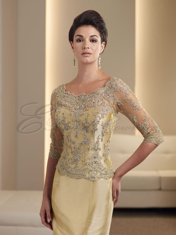 Mother of the groom dresses mother of the bride for Pinterest wedding dresses for mother of the bride