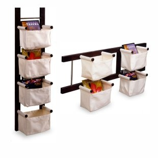 Very cool magazine racks but could be used for hair supplies in bathroom?  Or small space in closet?