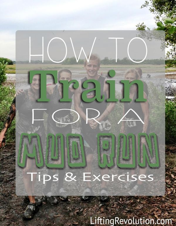How To Train For A Mud Run {Exercises & Tips} #spartanrace #mudrun