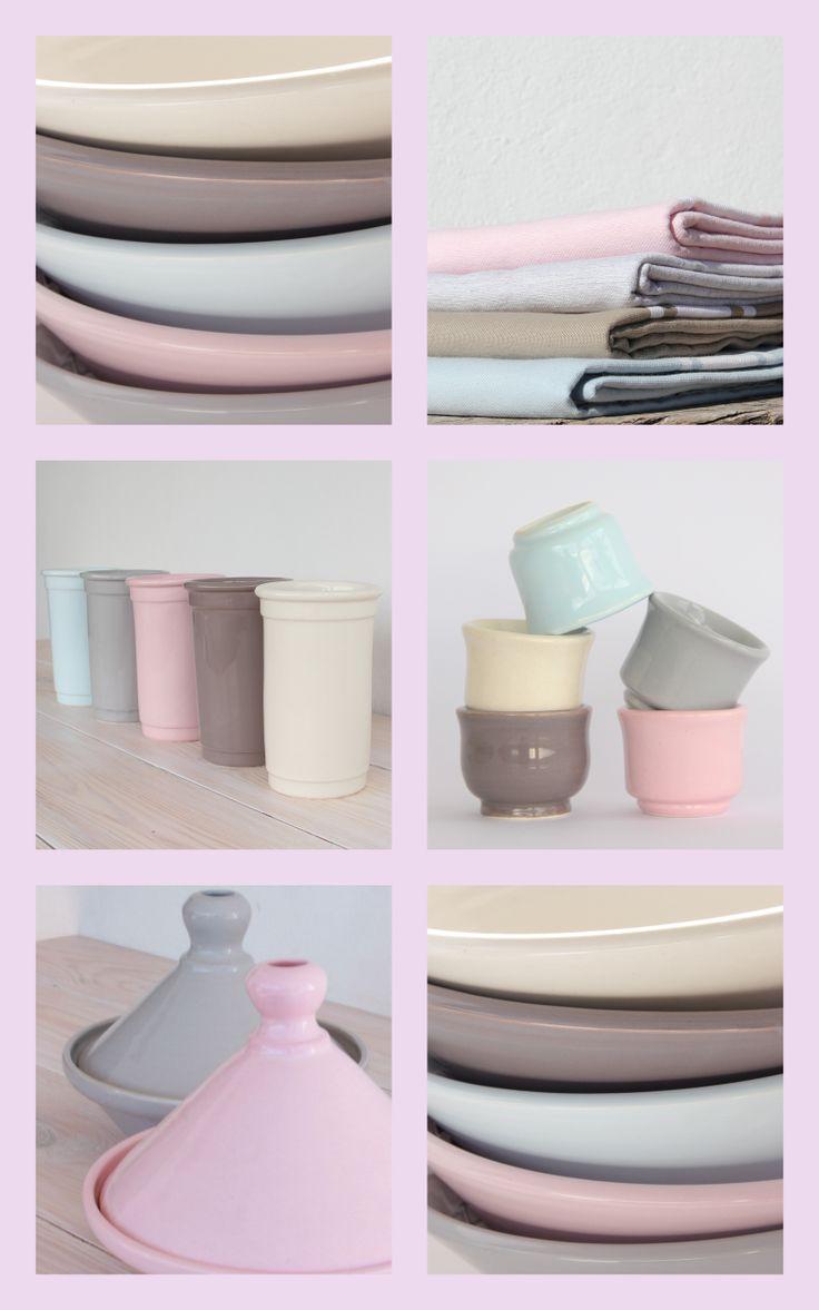 Handmade andalusian tableware