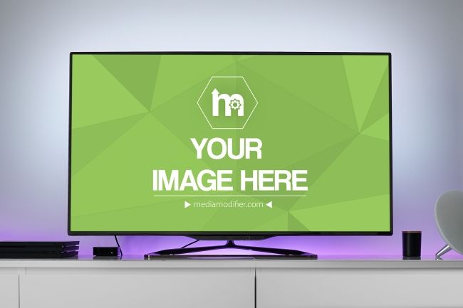 Large Flat Screen Tv Mockup Generator Mediamodifier Free Online Mockup Generator Mockup Generator Flatscreen Tv Mockup