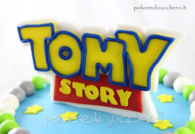 torta di compleanno a tema Toy Story, birthday cake toy story