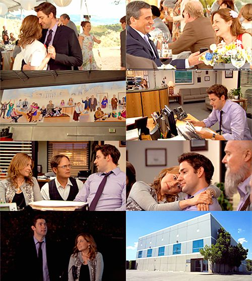 FinaleThe finale.  I don't think there has ever been anything as perfect as this was ever on television.  Add to it the retrospective that was on for an hour before the show started and all that was left to add was out sighs of utter contentment. Greg Daniels absolutely did right by us and John Krasinski, Jenna Fischer and the rest were so perfect, they obviously put their hearts and all that they were feeling about the show ending into this and wrapped it up & gave it to us as a perfect…