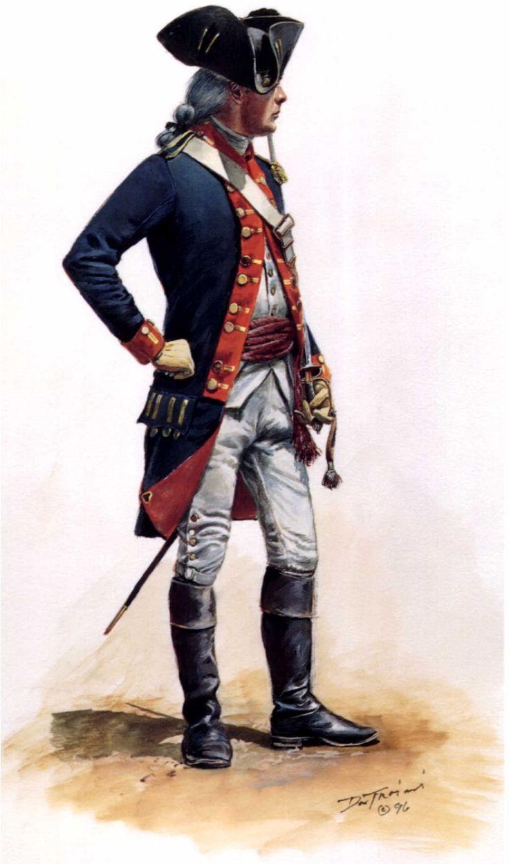 Lieutenant, 2nd Continental Artillery Regiment, by Don Troiani.