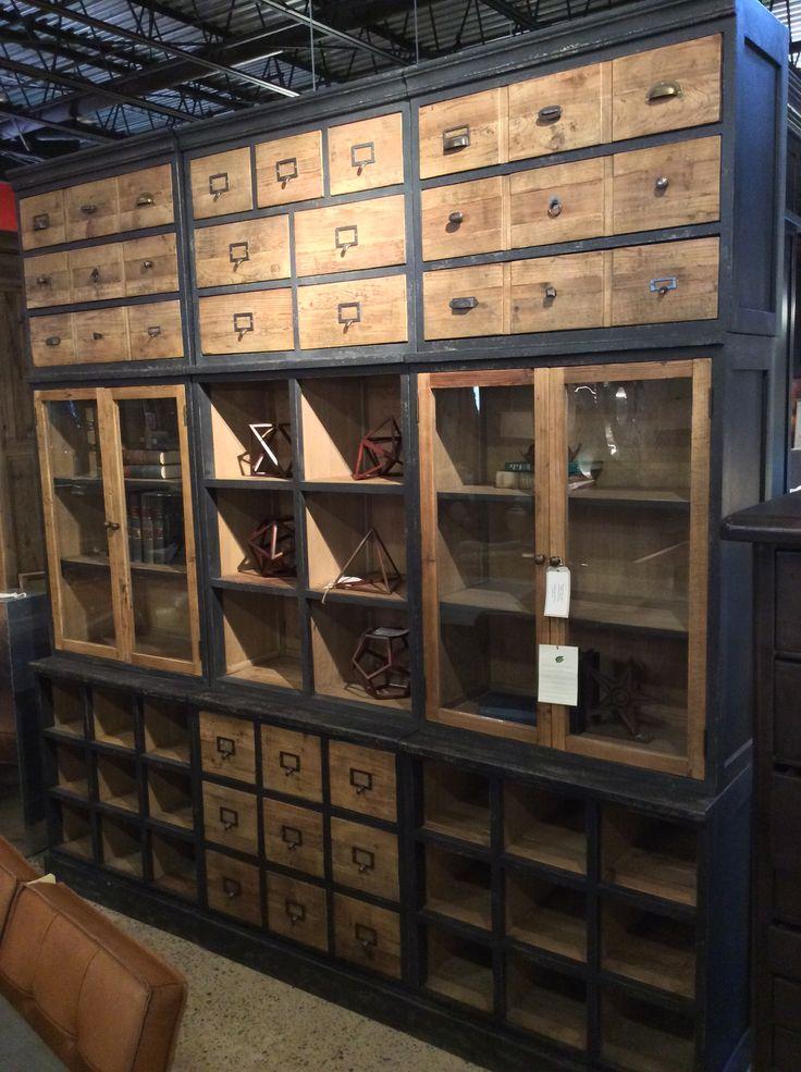 Great This Vintage Inspired Storage Cabinet Boasts Three Separate Unique Storage  Areas, Making The Winston A Stylish Organizeru0027s Dream. Cornerstone Home  Interiors