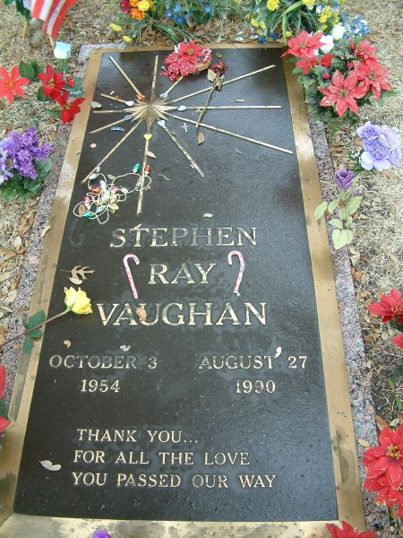 83 best images about stevie ray vaughan on pinterest - Valley memorial gardens mission tx ...