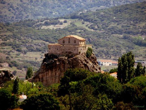 Lesvos,Panagia tis Petras=(Church) ... Madonna of Petra..(Petra=stone or rock in English)...(by Sylvietsak)