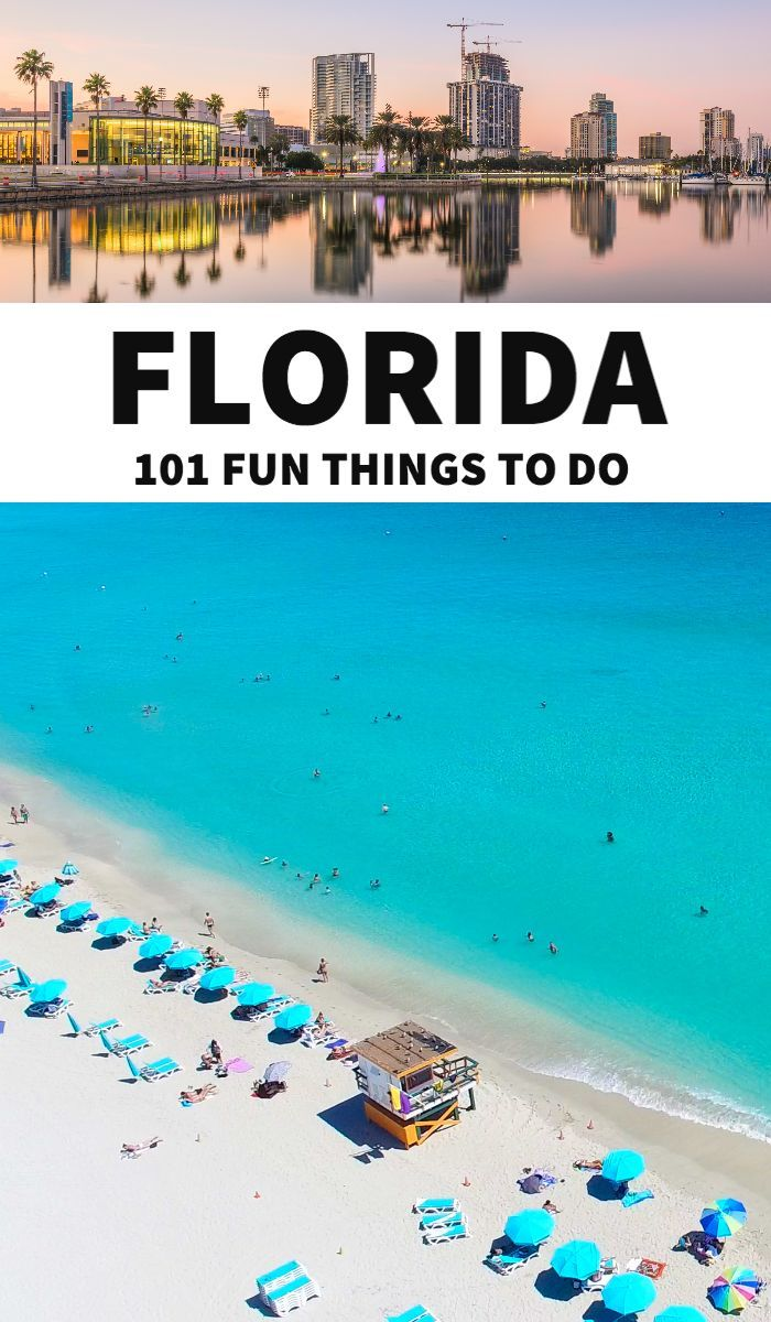 Florida Bucket List 101 Things To Do In Florida In 2020 Florida Travel Orlando Travel Best Places In Florida