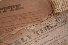 Old Newspapers Online - If you're looking for great sources for your genealogy research, try old newspapers online. As the only major news outlet of their time, local papers recorded everyday events in the lives of citizens. Of the most interest to genealogists are stories about ancestors' life events. As you search through newspaper archives, look for:   Obituaries and death notices  Birth notices and marriage notices  Social calls  News stories about accidents or big events  Photographs