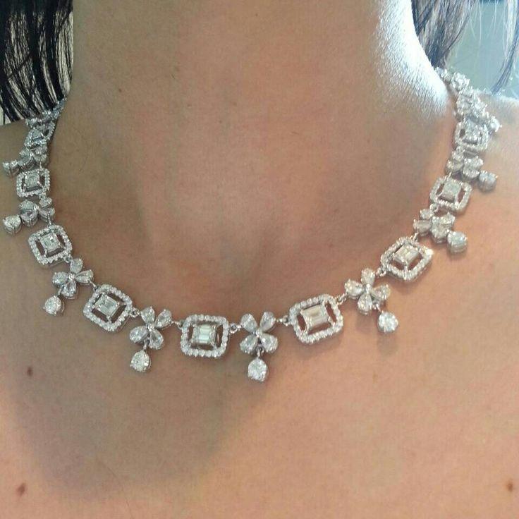 Beautiful Diamonds necklace