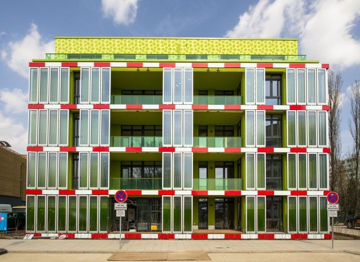 Humans Introduce The World's First Algae-Powered Building...