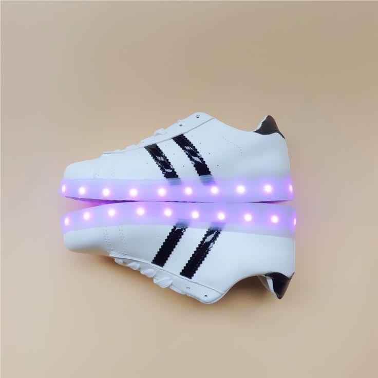 >> Click to Buy << Unisex Casual LED Shoes Men Dance Fashion Light USB Luminous Tenis Con Luz Schoenen Met Licht Glowing Zapatillas Con Luces Shoes #Affiliate