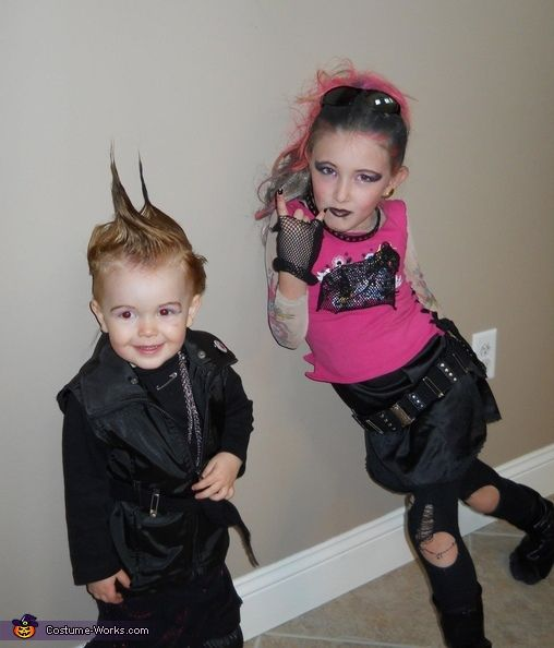 Punk Rockers - 2012 Halloween Costume Contest