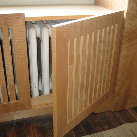 Custom Radiator Cover- Access to the radiator is gained by swinging open the…