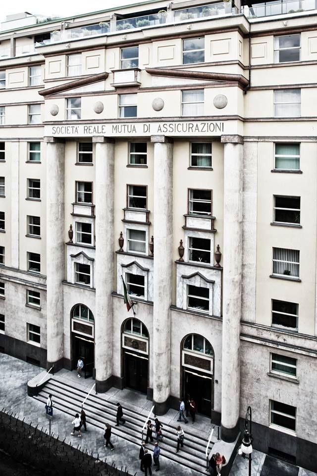 La sede Reale Mutua Assicurazioni in Via Corte d'Appello, 11