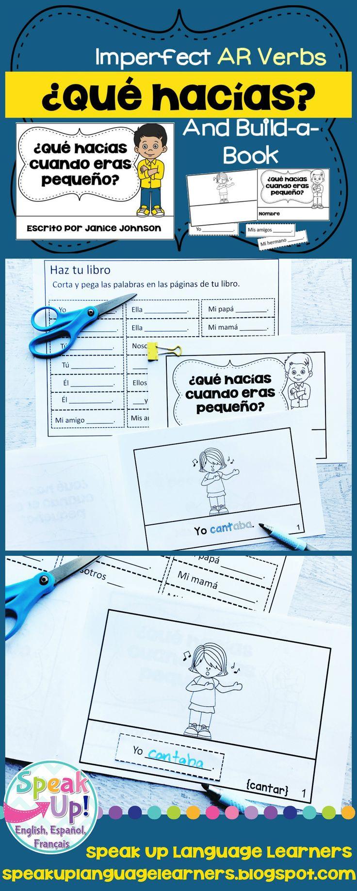 70 best Spanish present tense verbs images on Pinterest | Emergent ...