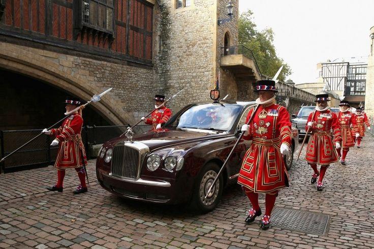 Королевская поездка в Лондонский Тауэр