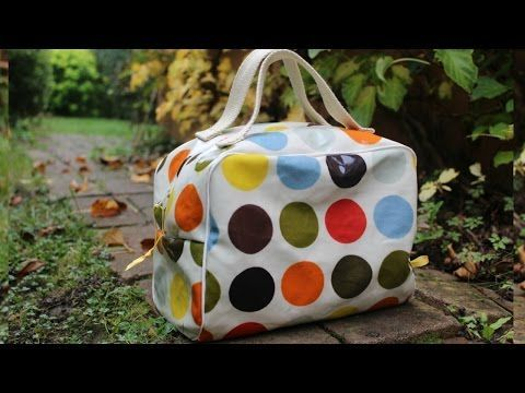 [COUTURE N°12] Trousse de toilette imperméable - YouTube