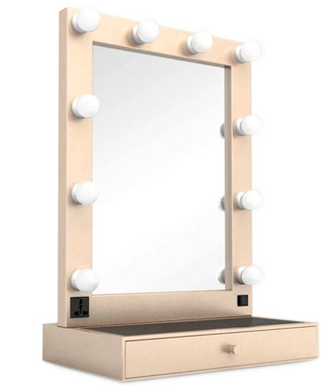 Hollywood Tabletop Mirrors, Lighted Bathroom Mirrors Made To Measure