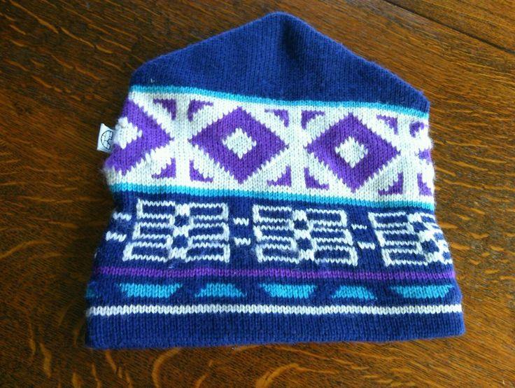 Igloos Nordic Pattern Ski Beanie Wool Snowboarding Hat Warm Knit Toque Soft Cap  | eBay