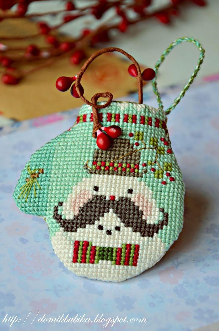 Mitten christmas decorations -  Mitten Poirot The Cricketschristmas Decorationscross