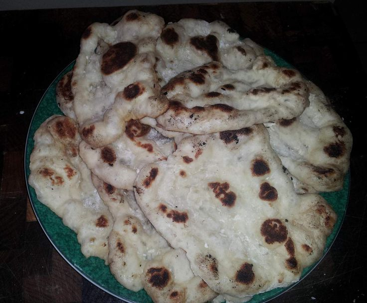 Recipe Naan like the Takeaway Curry Naan by bookbabe - Recipe of category Breads & rolls