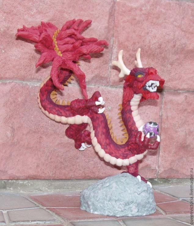 Китайский дракон из полимерной глины. МК QueenVictoria. Обсуждение на LiveInternet - Российский Сервис Онлайн-Дневников