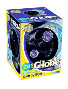 2 in 1 Globe by Day Earth by Night product photo