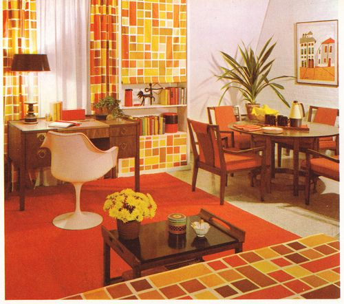 57 Best 70's INTERIORS Images On Pinterest