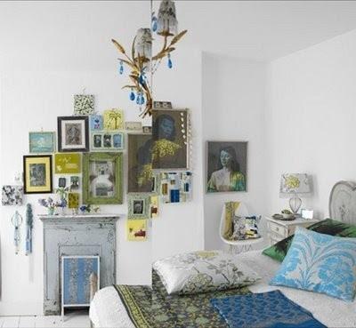 Blue Hydrangea: Eclectic Bedrooms
