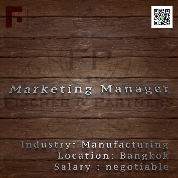 Seeking MARKETING MANAGER to work in Bangkok, Thailand –> Apply Now !!!  recruit9@fischerandpartners.com  https://recruit.zoho.com/recruit/ViewJob.na?digest=duBuh5Cl.xppfB786q9KjLzvHbvUx7fIIcz78HBreFM-&embedsource=Embed  http://www.fischerandpartners.com/recruitment-services/
