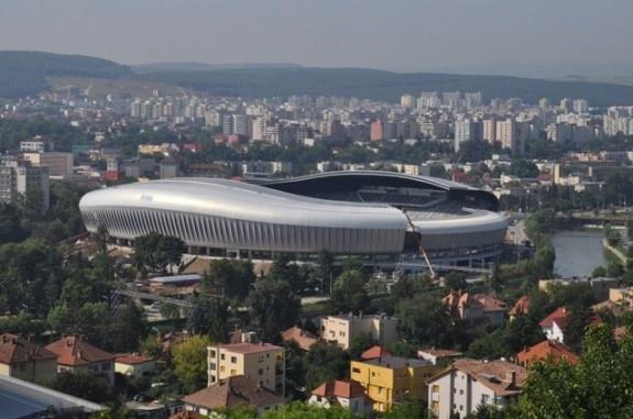 Cluj-Napoca, the modern stadium