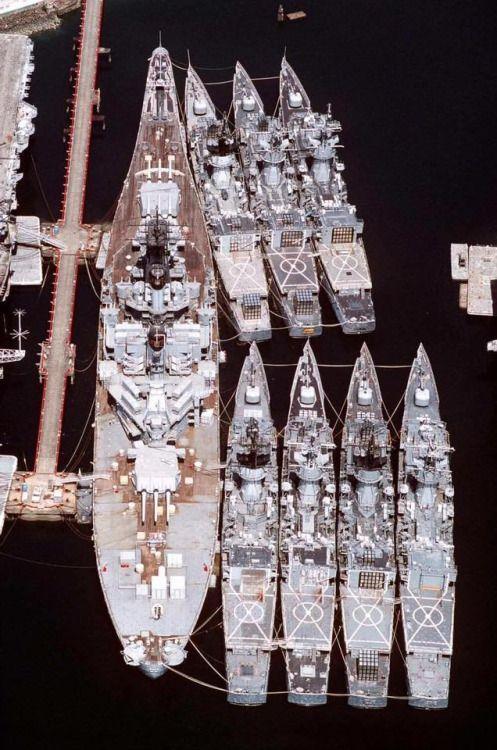 "sailnavy: ""  USS New Jersey BB-62 """