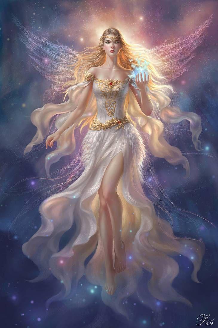 Hylia, Goddess of Time by 89ravenclaw on DeviantArt