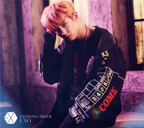 Chanyeol - 161027 'Coming Over' teaser image Credit: Official EXO Japan website.