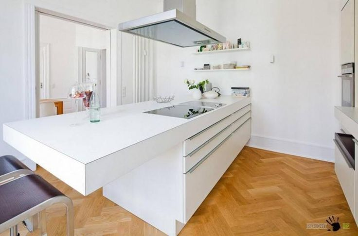 White Modern Kitchen Design Inspirations German |