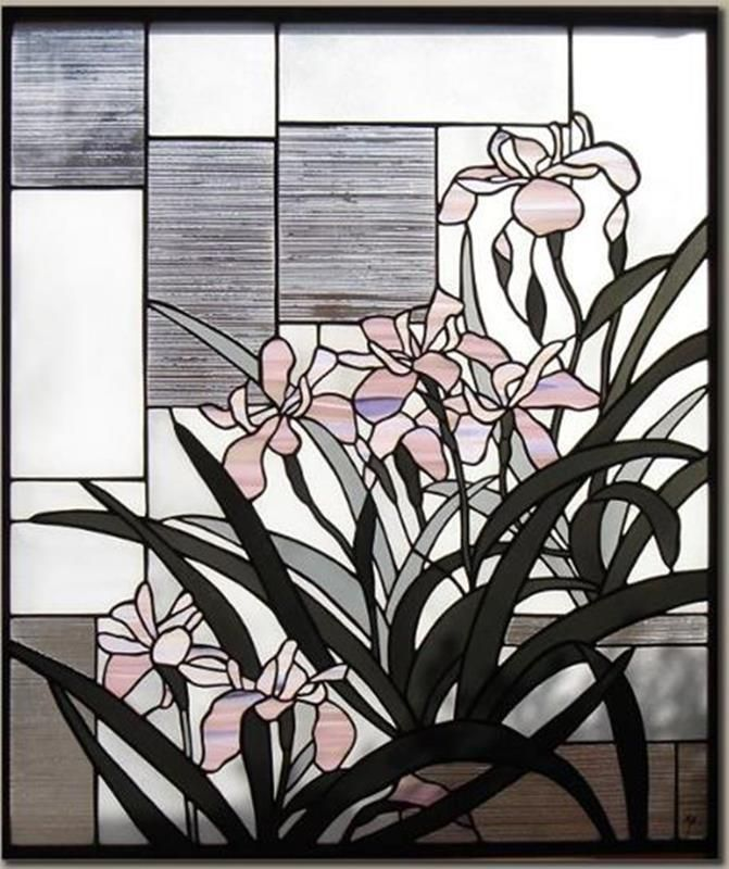Asian style stained glass classic