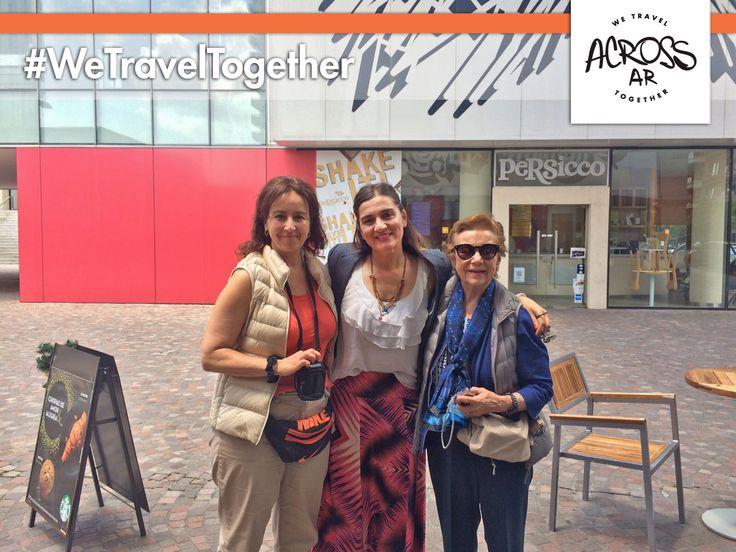 Nuestra experta local Paula recibió a Martha Brambila y su mamá, que llegaron desde #México para recorrer #Bariloche, #Iguazú y #BuenosAires. Les deseamos un excelente #viaje!!! Gracias por elegir Across Argentina! #ViajamosJuntos #Sudamerica #Argentina #viajes #expertosLocales #BuenViaje #felizLunes