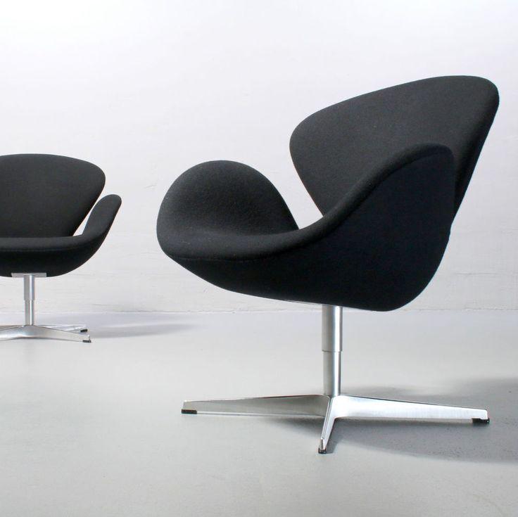 10 best images about arne jacobsen st hle on pinterest silk furniture chairs and oder. Black Bedroom Furniture Sets. Home Design Ideas