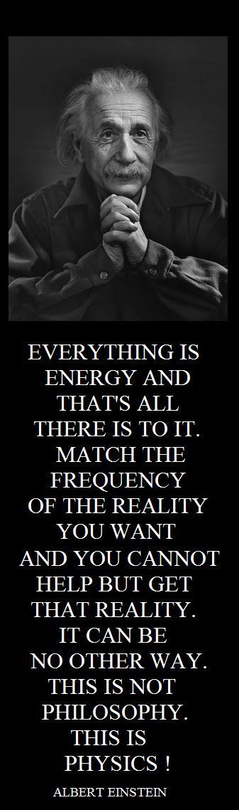 Albert Einstein Quotes - So Law of Attraction. I love it! ♥ Attract beauty with airbrush makeup. #albert #einstein #quotes