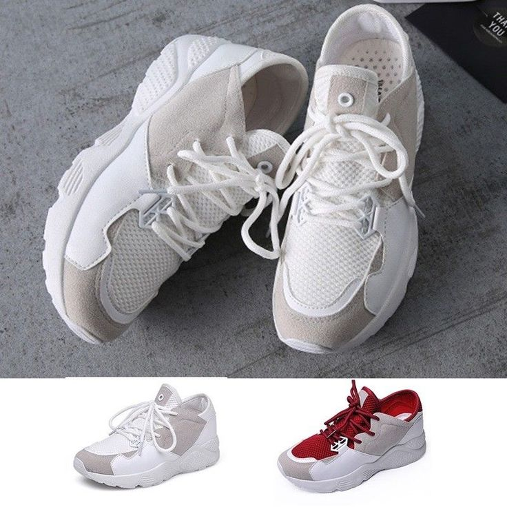 Womens Sports Shoes Spring Summer Thick Bottom Running Casual Non-Slip Sneakers