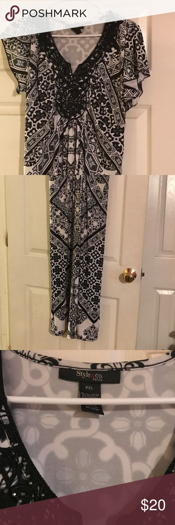 Woman's petite maxi dress Never been worn. No tags Style & Co Dresses Maxi