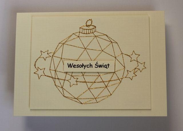 kartka bożonarodzeniowa  ręcznie wykonana OKAZJA w ArtVitryna na DaWanda.com