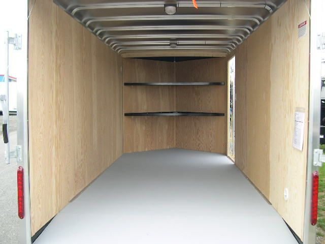 Carmate 7 X 16 V Nose Enclosed Cargo Trailer 6