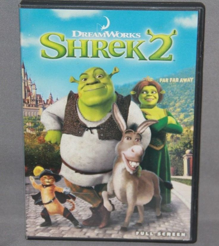 SHREK 2 (FULL SCREEN EDITION) DVD #Dreamworks