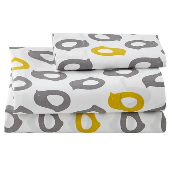 Not a Peep Toddler Sheet Set (Chicks) | The Land of Nod