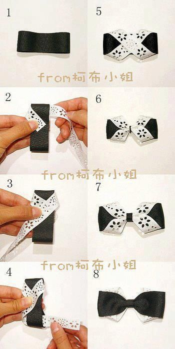 AS MAKING AN ELEGANT BOWTIE ? ¡ DON'T WORRY !  HERE I SHOW IT TO YOU IN EIGHT SIMPLE STEPS.