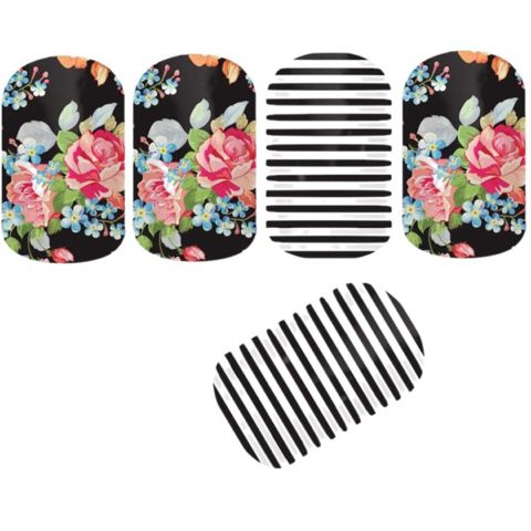 JAMBERRY | Reminisce and Black & White Skinny. I love the flowers very shabby chic. Contact me at themagicofjams@yahoo.com
